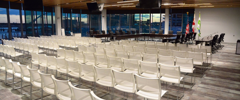 Boardroom event rental
