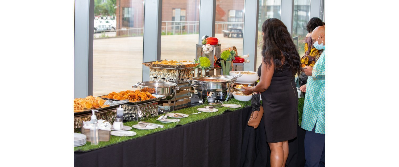 DC Wedding Venue First Floor Food
